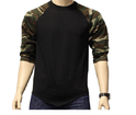 Mens Camo Flag Army Tee Black  Camo T-Shirt