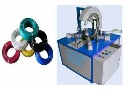 Horizontal Cable Coil Wrapping Machine