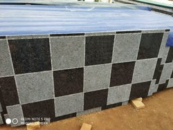 CNC Black & White Chess Granite Slab