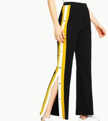 Lycra Straight Fit Designer Casual Pant