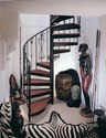 Residential Mild Steel Staircase