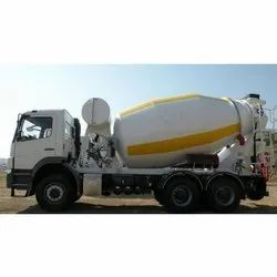 Diesel Engine Natural/Metallic Transmixer Drum, For Used To Mix Concrete, Drum Capacity: 6 to 9 qubic mtr