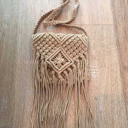 Indian Luxurious Macrame Shopping Bags