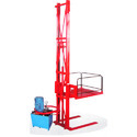 Swing Cylinder Single Mast Wall Mounted Stacker