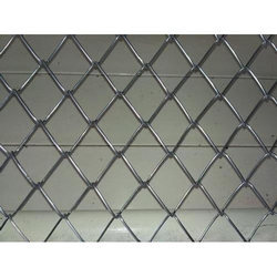 Outdoor PVC Chain Link Fencing