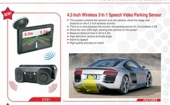 Wireless Video Voice Parking Aid, for Industrial