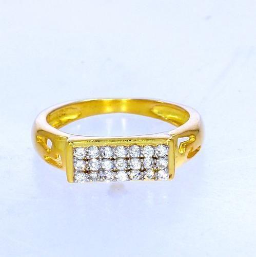 916 Gold Ring Grlpc014 at Rs 2850 gram