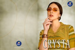 Crysta -Vitara Exclusive Linen And Handloom Designer Kurtis