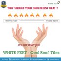 Weathering White Tiles White Feet