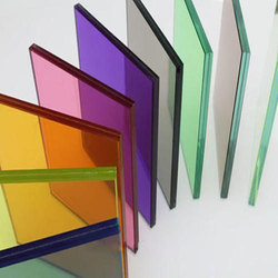 Multicolor Tinted Float Glass