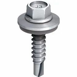 Ejot Hex Head 25 Mm Stainless Steel Screw, For Construction