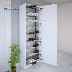 Shoe Rack Pull Out Solid Base 1850600