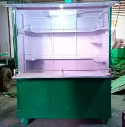 Movable Shop In Mild Steel