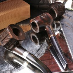 Rocky wood pipes