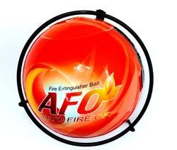 Fire Extinguishes Ball