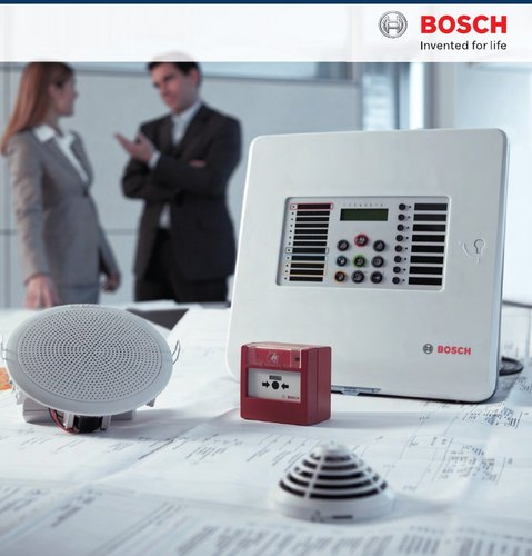 M S Body Red Bosch Fire Alarm Systems