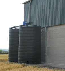 Spiral Vertical HDPE Storage Tank
