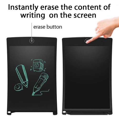 Pack LCD Writing Tablet, 8.5 inch Electronic Drawing Pads for Kids, Portable Reusable Erasable Ewrit