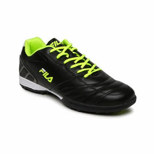 f56b798a0abc Black Fila Sports Shoes