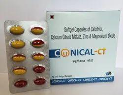 Conical CT Soft Gel Caps