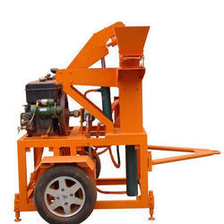 Interlocking Bricks Making Machine