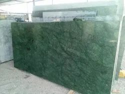 Polished Finish Indian Green Marbles, Slab, Thickness: 15-20 mm