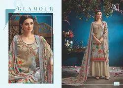Designer Cotton dress Materails