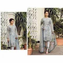 Eid Wear Pakistani Style Heavy Embroideries Worked Straight Salwar Kameez