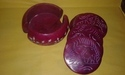 Soapstone Color Coaster Set