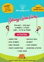 HYDERABAD SUMMER CAMP ADVENTURE FOR STUDENTS