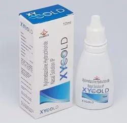Xylometazoline Hydrochloride Nasal Drops, For Clinical, Hospital, 10Ml