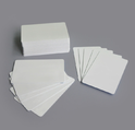 New White Pvc Cards