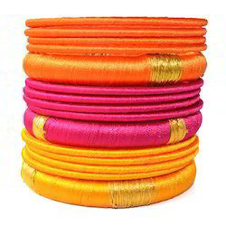 Indian Handcraft Silk Thread Bangles