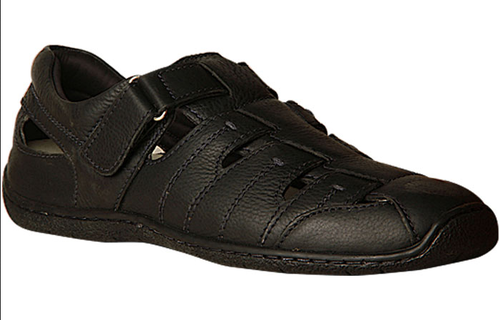 Leather Hush Puppies Men Casual Shoes