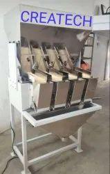 4 Head Linear Weigher Machine