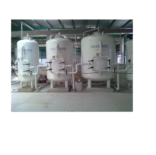 Industrial Filtration Systems - Activated Carbon Filters FRP