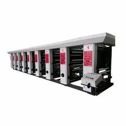 Multicolor Rotogravure Printing Making Machine