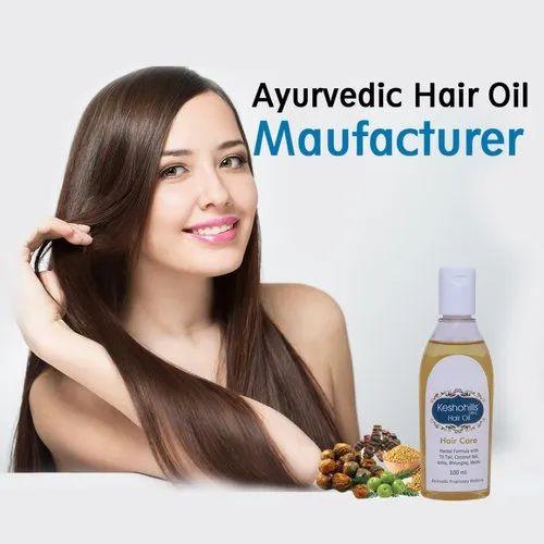 Herbal Hills Ayurvedic Hair Oil - Smooth & Nourished, Packaging Size: 100ml