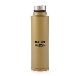 NIRLON SOFT TOUCH GOLDEN COLOUR STEEL BOTTLE