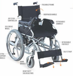 QADIR- Power Wheel Chair