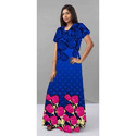 Fancy Ladies Cotton Gown