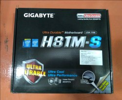 Ultra Durable Motherboard H81m S