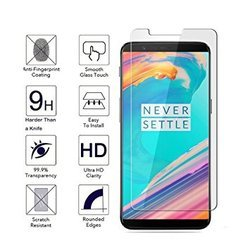 One Plus 5T Tempered Glass