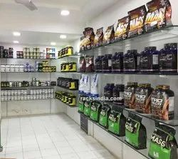 Display Rack For Sport Supplement