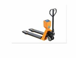 Mild Steel Weighing Scale Pallet Truck