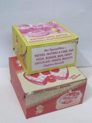Common Print Cake Box