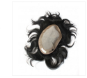7x5 Inch Silk Base Men Hair Patch Wig