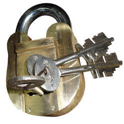 75mm Study Plus Brass Padlock