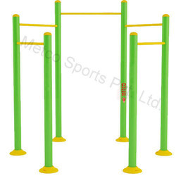 Outdoor Gym Equipment Metco Circular Pull Up Station 9114