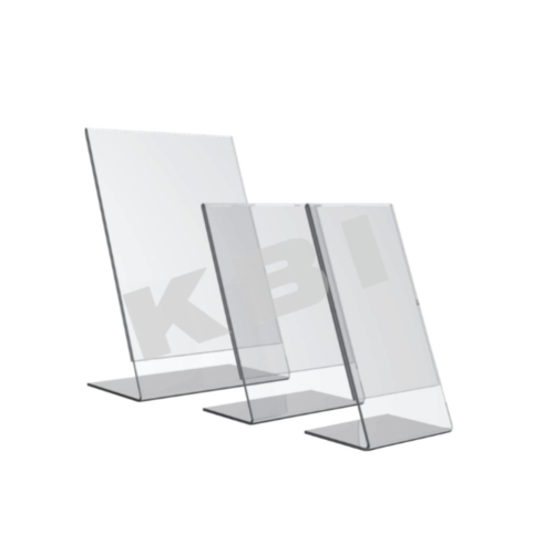 Acrylic Display Stand L Type Table Mountable